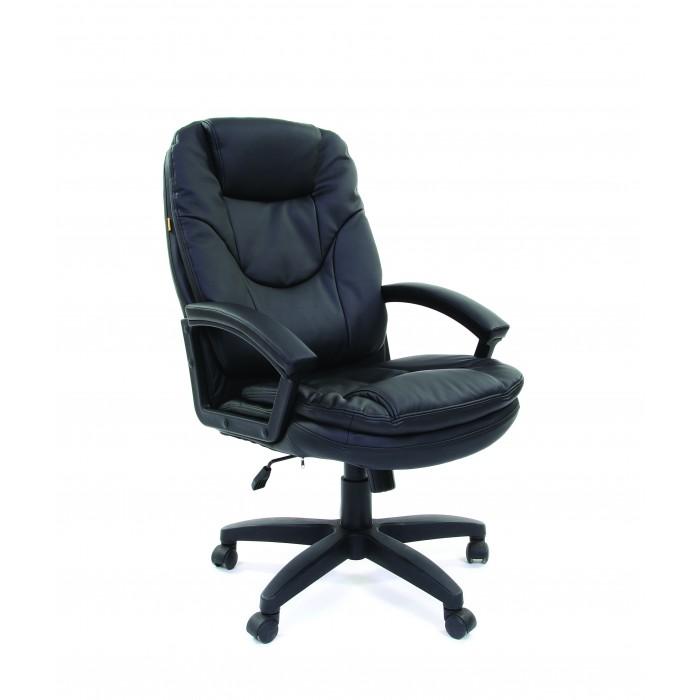 Офисное кресло Chairman 668 черный 00-06113129 LT Россия эко премиум черный кресло chairman 681 с3 черный 1188132