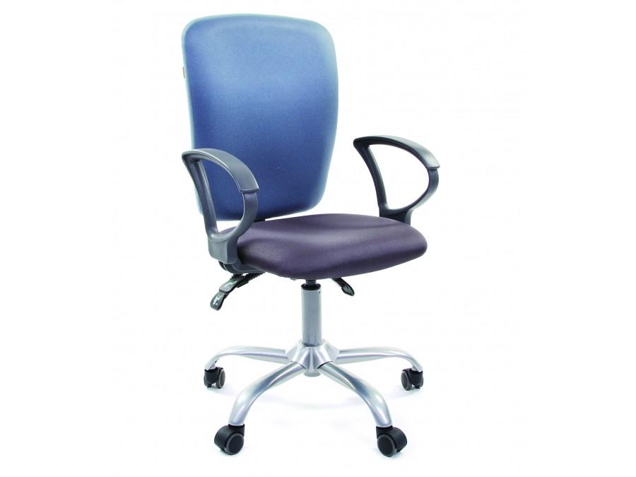 Офисное кресло Chairman 9801 Россия сид 15-13 серый/сп 15-41 голубой офисное