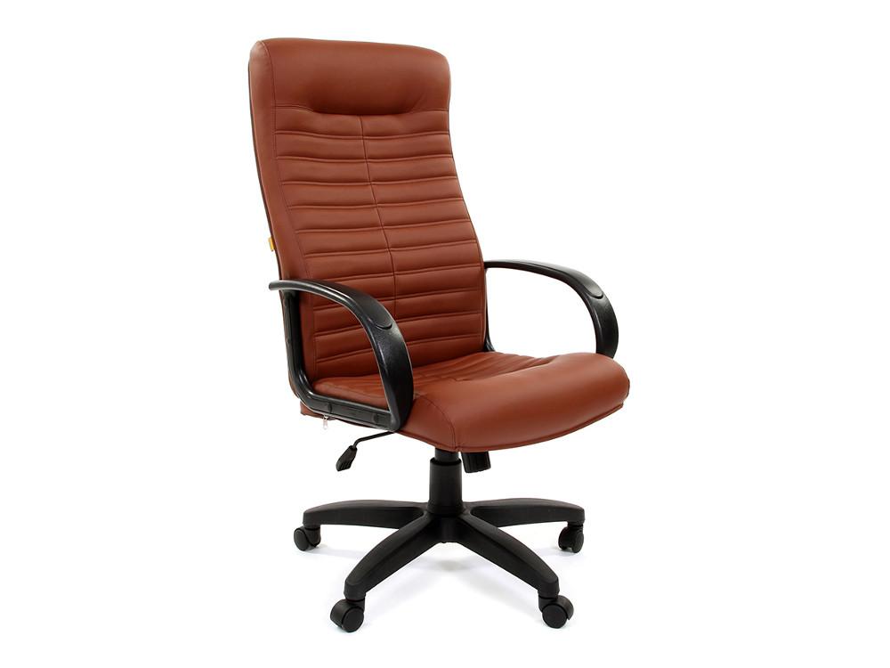 Офисное кресло Chairman 480 LT Россия к/з Terra 111 коричневый цена