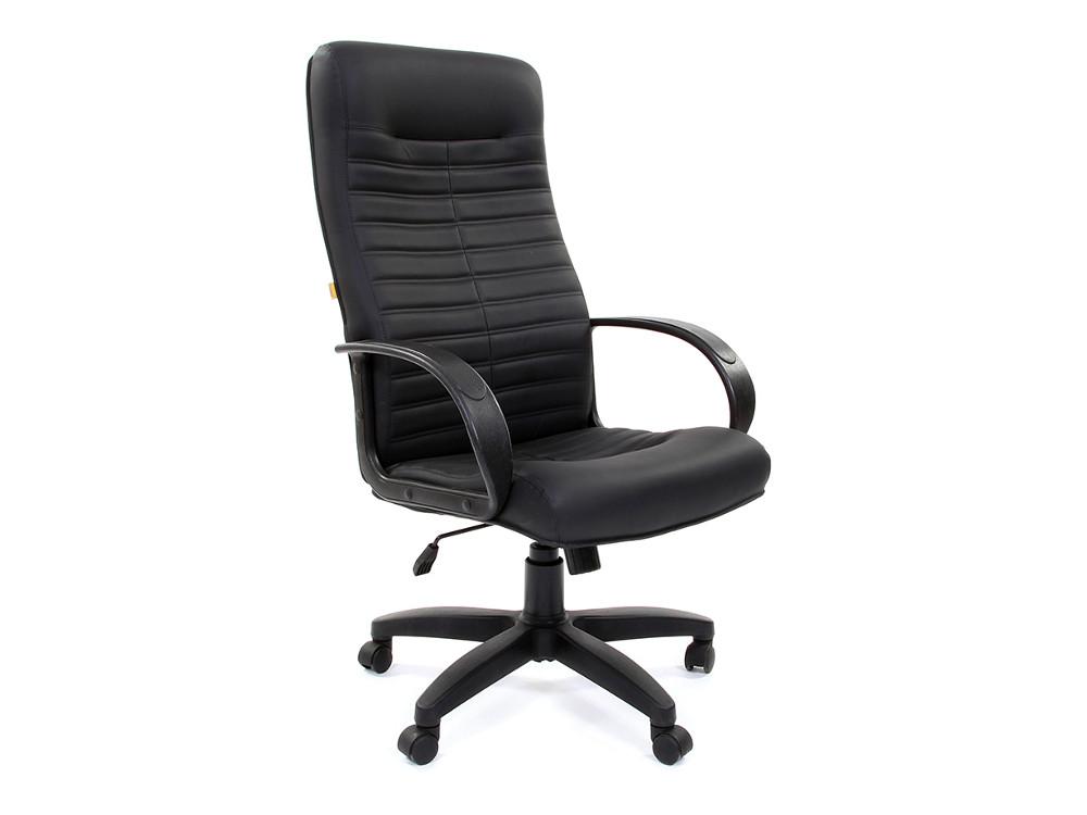 Офисное кресло Chairman 480 00-07000191 LT Россия эко премиум черный