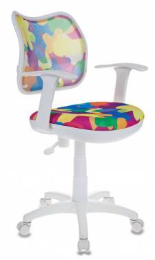 Кресло детское Бюрократ CH-W797/ABSTRACT абстракция