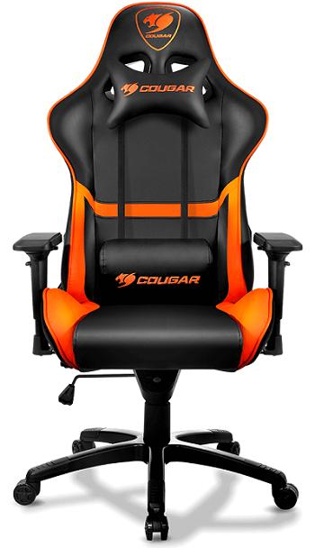 Кресло компьютерное игровое Cougar Armor черный