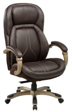 Кресло Бюрократ T-9919/BROWN коричневый кресло desire brown
