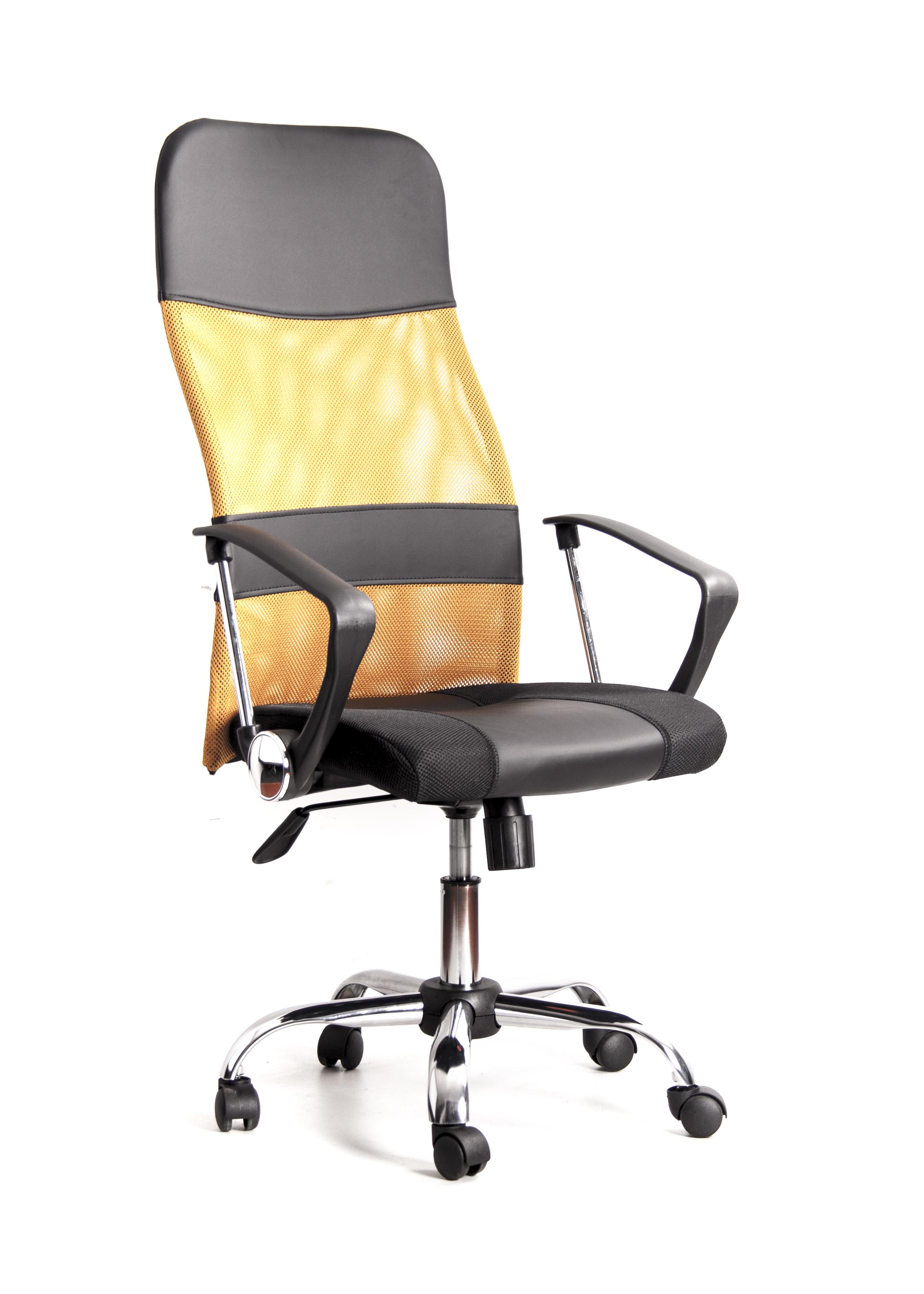 Кресло Recardo Smart Черно-бежевый сетка/кожа, 120кг, газлифт/качание/откидывание кресло recardo smart 60 черный 60 gtphch1 w01 t01