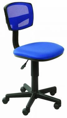 Картинка для Кресло Buro CH-299/BL/15-10 спинка сетка синий сиденье синий 15-10