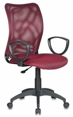Картинка для Кресло Buro CH-599/DC/TW-13N спинка сетка темно-красный TW-06N сиденье темно-красный TW-13N