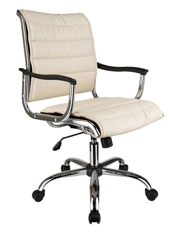 Кресло Buro CH-994AXSN/Ivory бежевый искуственная кожа
