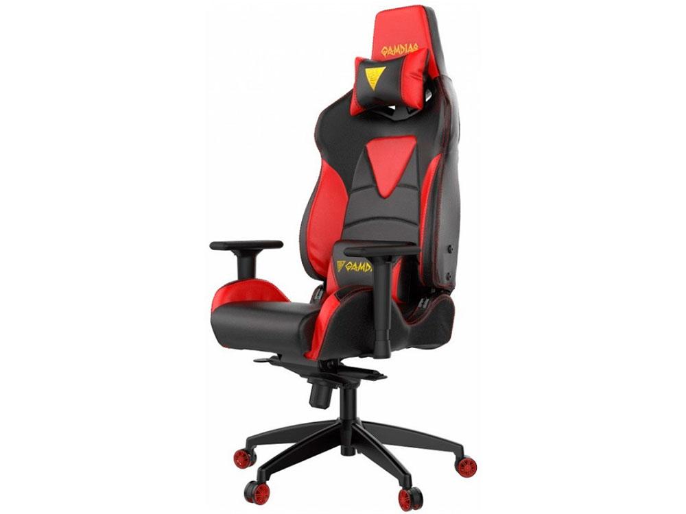 Геймерское кресло Gamdias HERCULES M1-BR (L) RGB подсветка