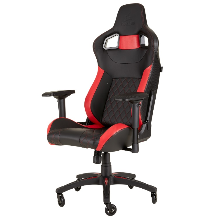 Кресло игровое Corsair Gaming T1 RACE 2018 чёрный красный CF-9010013-WW