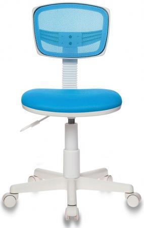 Кресло Бюрократ CH-W299/LB/TW-55 голубой