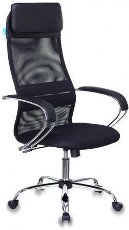 Кресло Бюрократ CH-608SL/BLACK черный искусст.кожа/ткань