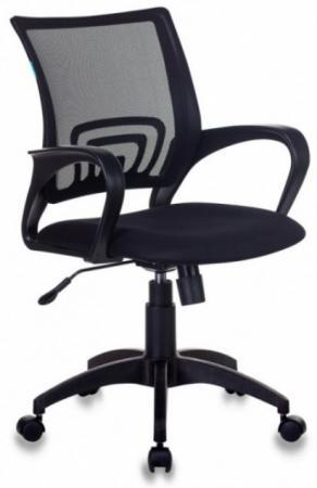 Кресло Бюрократ CH-695N/BLACK чёрный компьютерное кресло бюрократ ch 999asx black