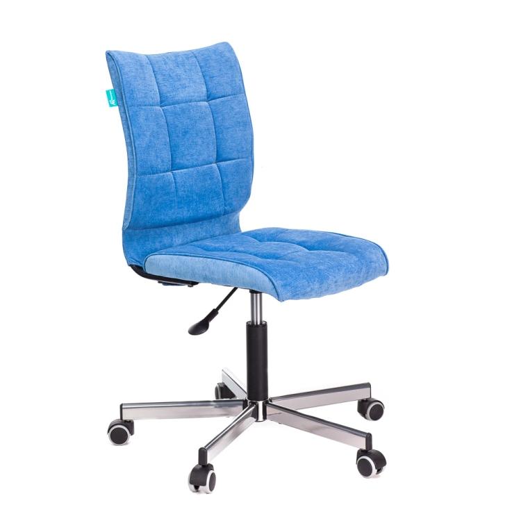 Кресло Бюрократ CH-330M/VELV86 голубой