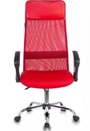 Кресло Бюрократ KB-6N/SL/R/TW-97N красный