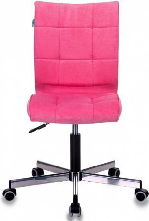 Кресло Бюрократ CH-330M/VELV36 розовый крестовина металл