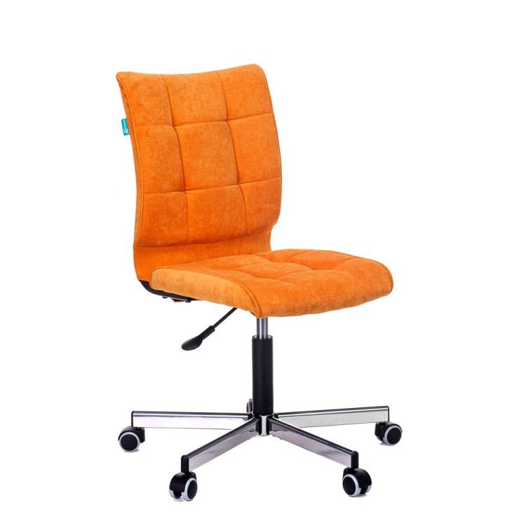 Кресло Бюрократ CH-330M/VELV72 оранжевый