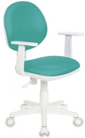 Кресло детское Бюрократ CH-W356AXSN/15-175 бирюзовый