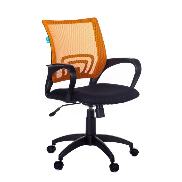 Кресло Бюрократ CH-695N/OR/TW-11 оранжевый