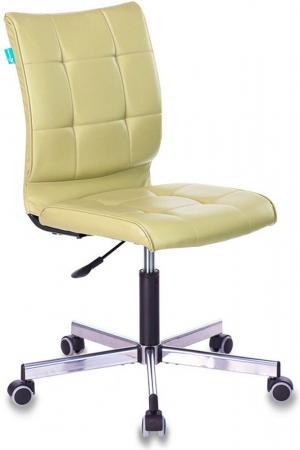 Кресло Бюрократ CH-330M/GREEN без подлокотников зеленый искусственная кожа, крестовина металл