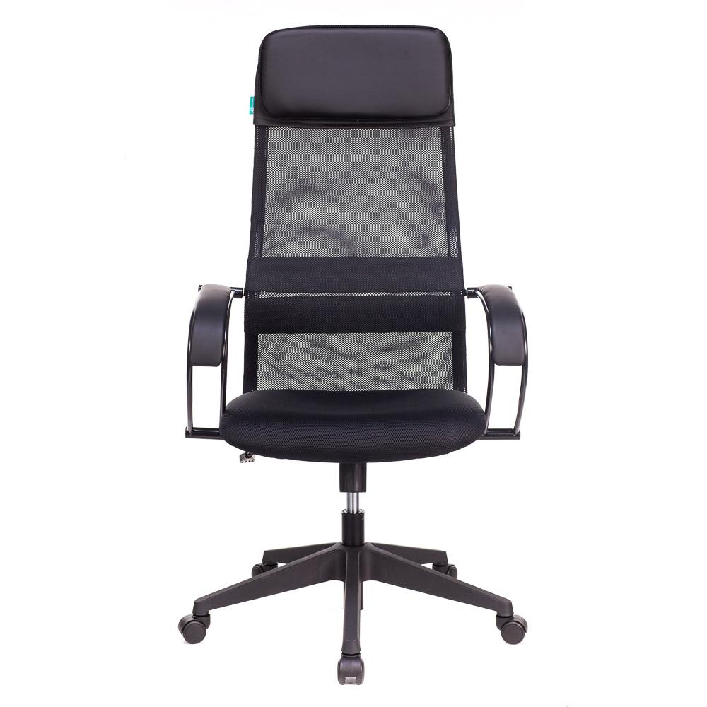 Кресло руководителя Бюрократ CH-608/BLACK чёрный компьютерное кресло бюрократ ch 999asx black