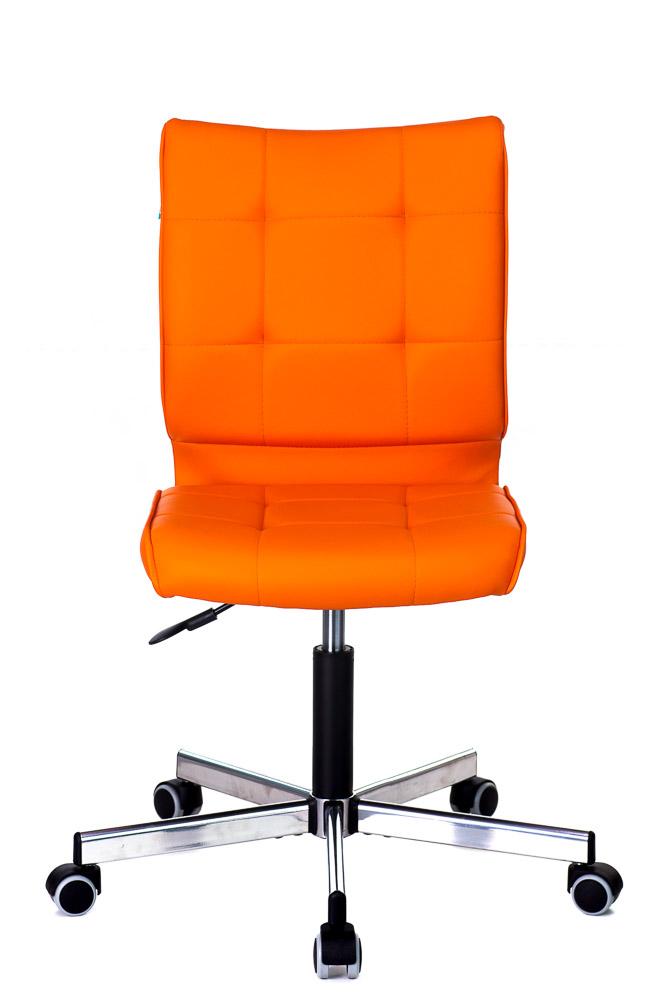 цена Кресло оператора Бюрократ CH-330M/OR-20 оранжевый онлайн в 2017 году