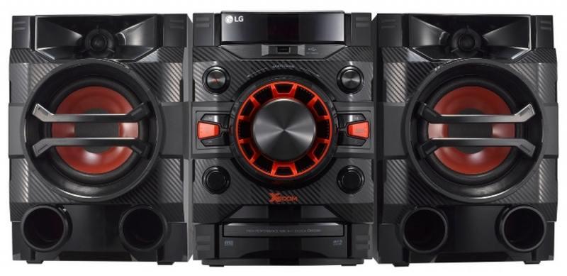 Микросистема LG CM4360 230Вт черный ремень мужской askent цвет черный rm 6 lg размер 125