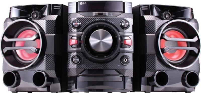 Минисистема LG DM5360K 60Вт черный lg 43lj510v черный