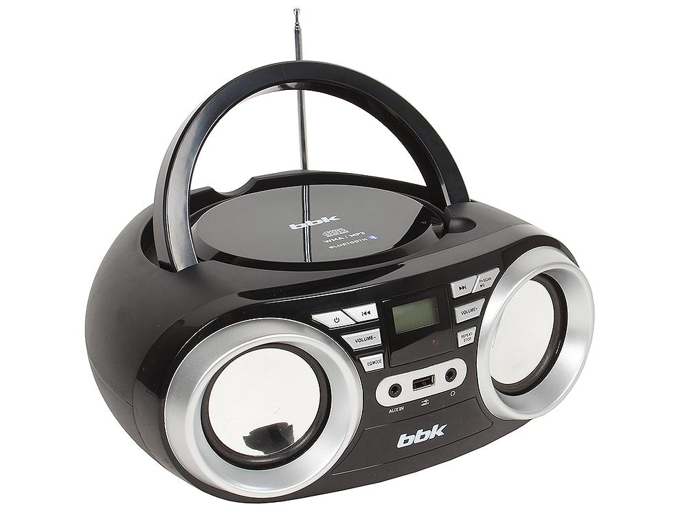 цена на Аудиомагнитола BBK BX160BT черный/металлик