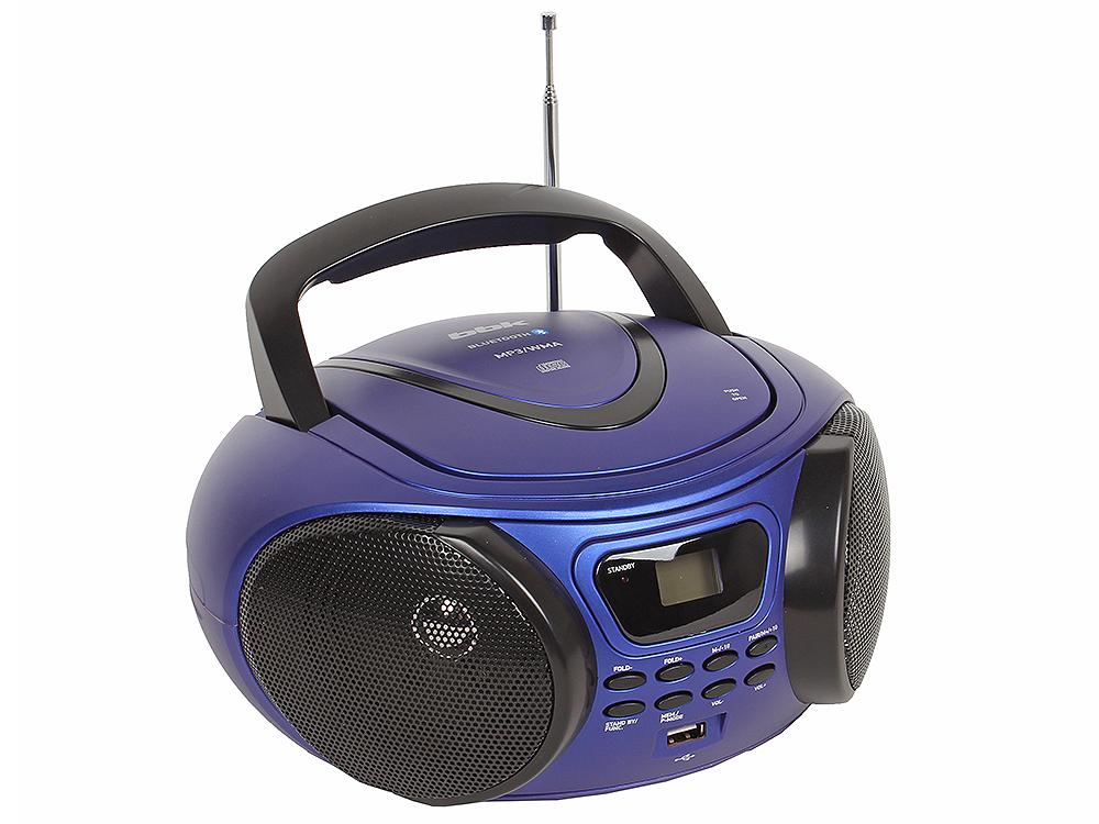 Аудиомагнитола BBK BX170BT темно-синий тв тюнер внешний bbk smp123hdt2 темно серый smp123hdt2 темно серый