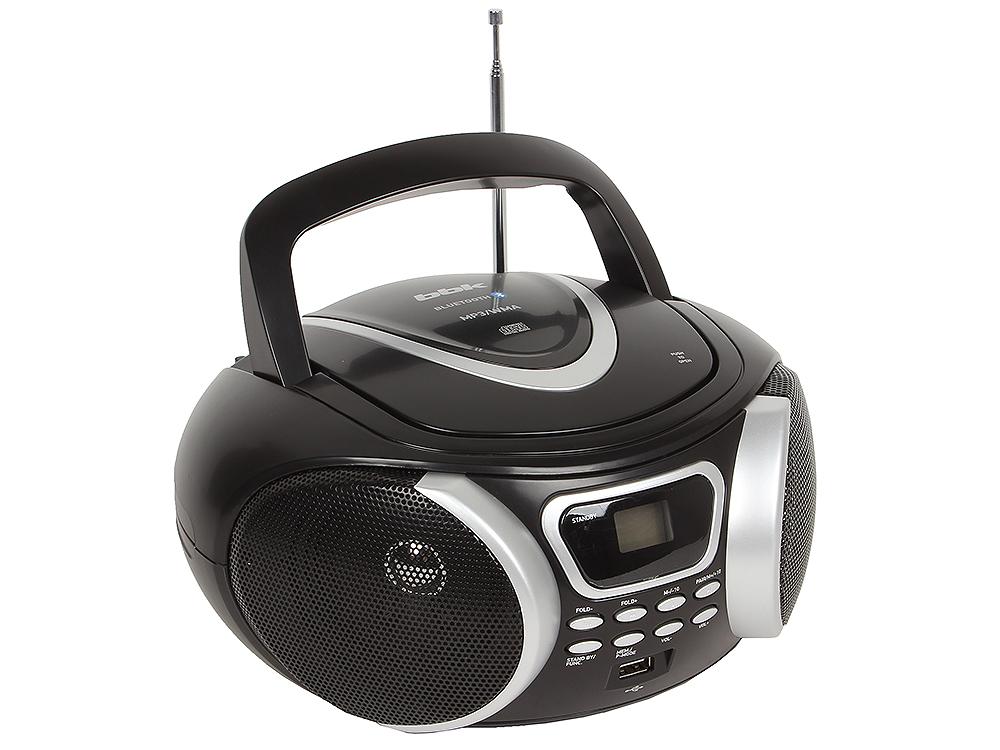 Аудиомагнитола BBK BX170BT черный/серебро bbk bs08bt черный