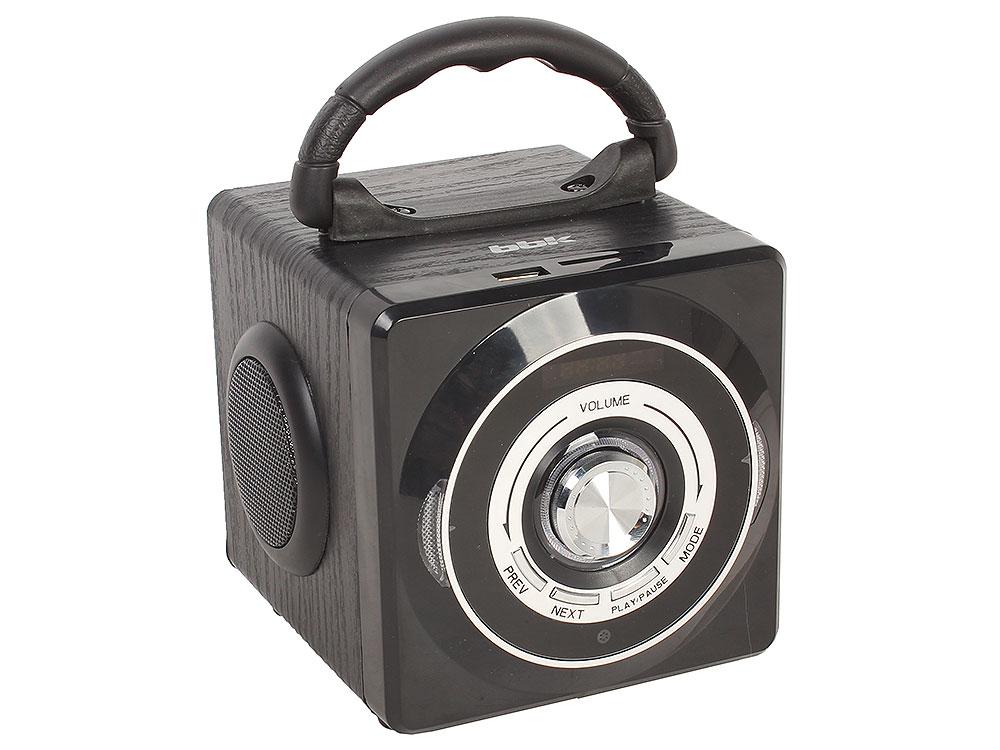 Аудиомагнитола BBK BS03BT черный аудиомагнитола bbk bs07bt темно синий