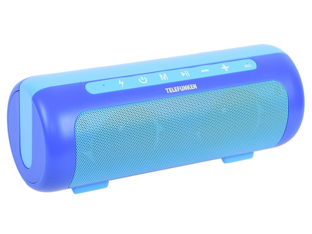 Магнитола Telefunken TF-PS1231B синий цена