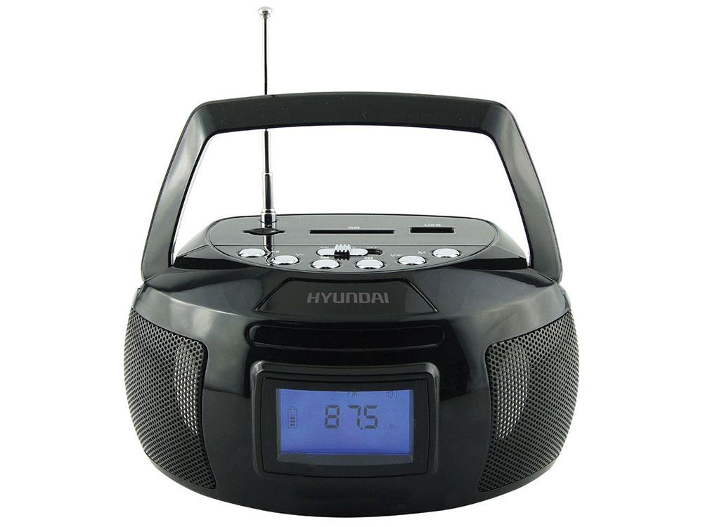 цена на Магнитола Hyundai H-PAS140 черный