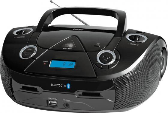 Аудиомагнитола BBK BX318BT черный 5Вт/CD/CDRW/MP3/FM(dig)/USB/BT carprie super drop ship car stereo in dash fm aux input dvd cd usb mp3 receiver player 2308 mar713