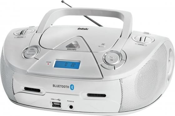 Аудиомагнитола BBK BX318BT серебристый 5Вт/CD/CDRW/MP3/FM(dig)/USB/BT чайф mp3 play cd