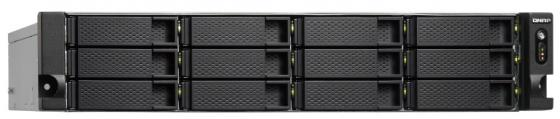 SMB QNAP TS-1253BU-RP-4G NAS 12 HDD trays, rackmount, 2 PSU. 4-core Intel Celeron J3455 1,5 GHz (up