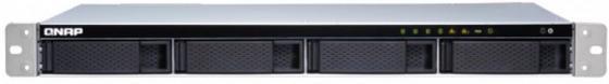 Сетевое хранилище QNAP TS-431XeU-8G Сетевой RAID-накопитель, 4 отсека для HDD, 10 GbE SFP+, стоечное исполнение, 1 блока питания. ARM Cortex-A15 Annap