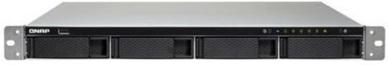 """Сетевое хранилище QNAP TS-453BU-4G Сетевой RAID-накопитель, 4 отсека 3,5""""/2,5"""", стоечное исполнение, 1 блок питания. Intel Celeron J3455 1,5 ГГц, 4 ГБ. Направляющие в комплект поставки не входят."""