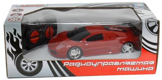 Машинка на радиоуправлении 1toy Супер кар красный от 3 лет пластик коробка Т59298 цена