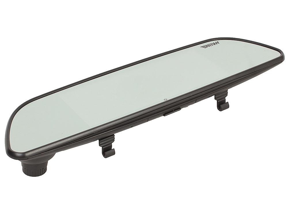 Видеорегистратор-зеркало Artway MD-170 2 камеры, Full HD 30fps, 170 градусов, датчик удара, GPS, 16гб, микрофон