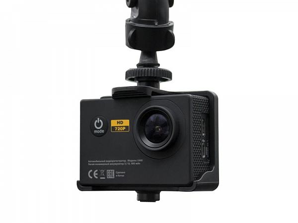 Автомобильный видеорегистратор + спортивная камера LEXAND LR40 2/1920x1080/900mAh/подводная съемка до 30м/датчик движения