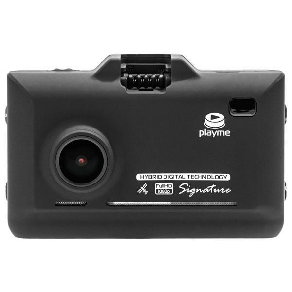Автомобильный Видеорегистратор + радар детектор PlayMe P570SG Комбо prology iscan 5030 graphite радар детектор
