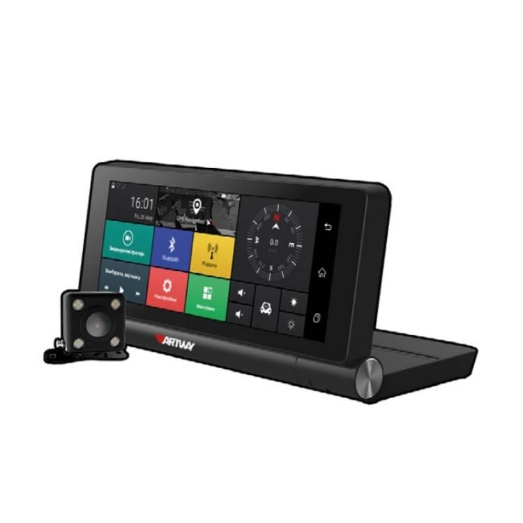 Видеорегистратор Artway MD-911, 11 в 1 Android складной автопланшет 1920х1080 видеорегистратор в машину