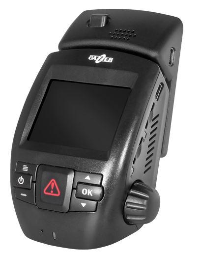 Автомобильный Видеорегистратор GAZER F150 +SD 16Gb 2.0/ 160°/ Full HD 2304x1296/G-sensor/microSD до 64Gb видеорегистратор японского производства с full hd съемкой
