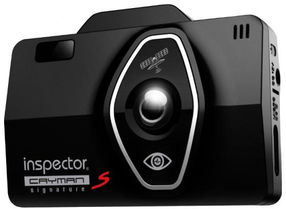 цена на Видеорегистратор Inspector Cayman S черный 2.4, 1920x1080, 130°, microSDXC, датчик удара