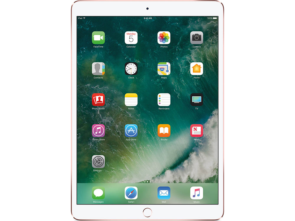 Планшет Apple iPad Pro MPGL2RU/A A10X (2.3) / 4Gb / 512Gb / 10.5'' IPS Retina / Wi-Fi / BT / 12+7mpx / iOS / Rose Gold планшет apple ipad pro 2017 10 5 512gb wi fi mpgk2ru a 4gb 512гб ios золотистый