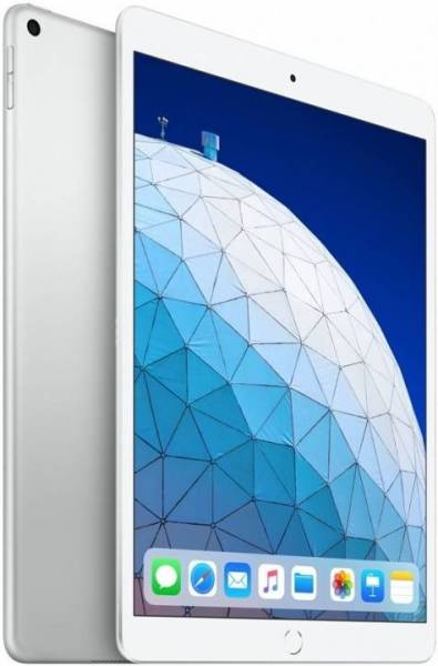 Планшет Apple iPad Air Wi-Fi 256GB 10.5 серебрянный 2019 MUUR2RU/A A12 (2.49) / 256Gb / 10.5'' Retina / Wi-Fi / BT / 7+8mpx / iOS 12 / Silver планшет apple ipad pro mphj2ru a apple a10x fusion 2 3 4gb 256gb 10 5 ips wi fi bt 12 7mpx ios gold