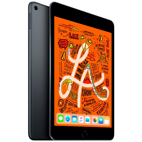 Планшет Apple iPad mini Wi-Fi 256GB 7.9 цвета серый космос 2019 MUU32RU/A A12 (2.49) / 256Gb / 7.9'' Retina / Wi-Fi / BT / 7+8mpx / iOS 12 / Gray планшет apple ipad pro mphj2ru a apple a10x fusion 2 3 4gb 256gb 10 5 ips wi fi bt 12 7mpx ios gold