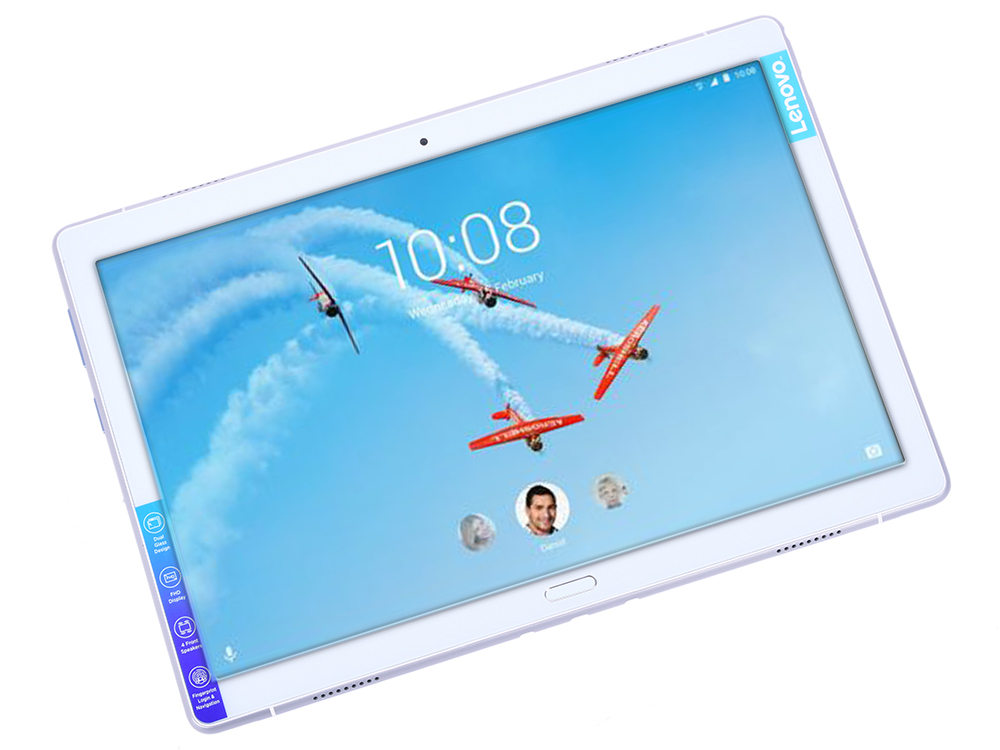 Планшет Lenovo ТB5 P10 TB-X705L (ZA450135RU) Qualcomm MSM8917/3GB/32GB/10.1 IPS/1920x1200/LTE/WiFi/BT/SD/Android 8.0/Sparkling White blackview r6 3gb 32gb smartphone white
