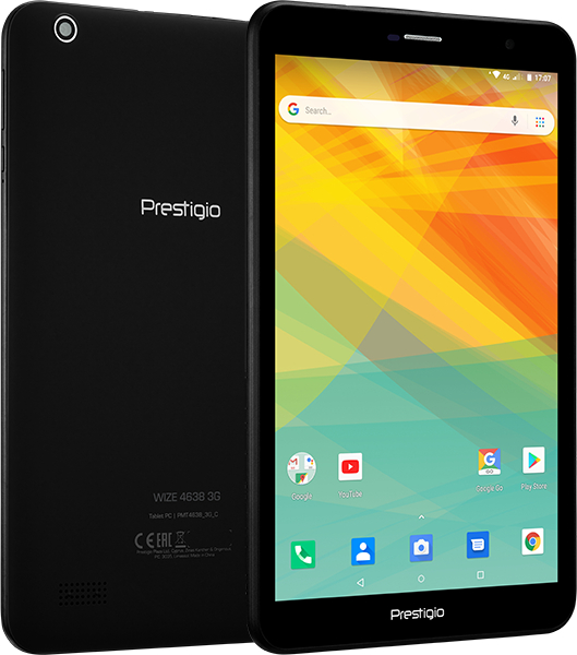 Планшет Prestigio WIZE 4638 3G Spreadtrum SC7731 (1.3) / 1Gb / 8Gb / 8